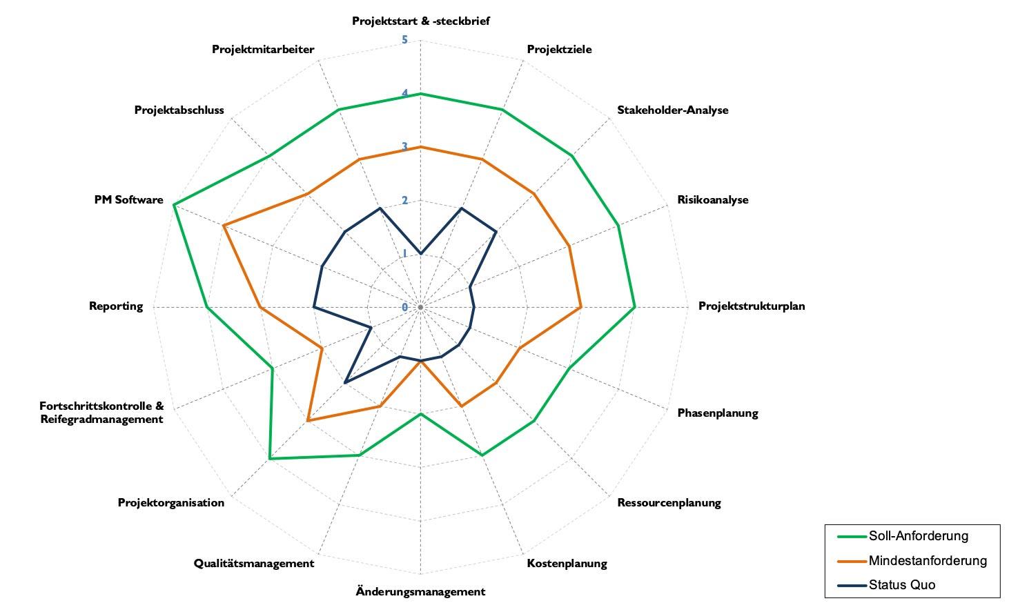 IST-Analyse Reifegradmodell