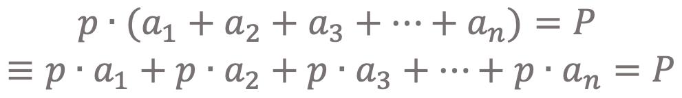 Projektmanagement Formel
