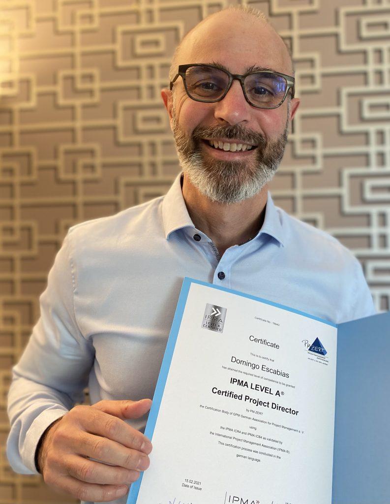Domingo Escabias Zertifikat