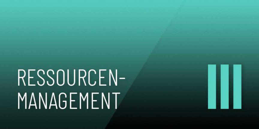 Ressourcenmanagement 3 Logo